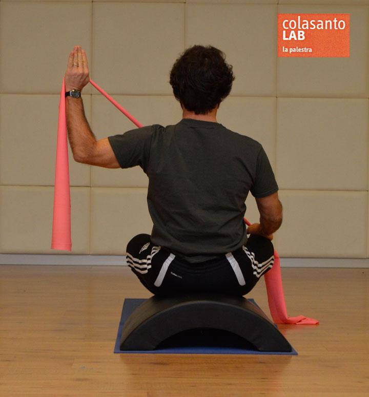 Esercizio 1: sitting keynote position.
