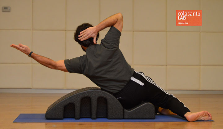 Esercizio 2: side ups spine corrector.